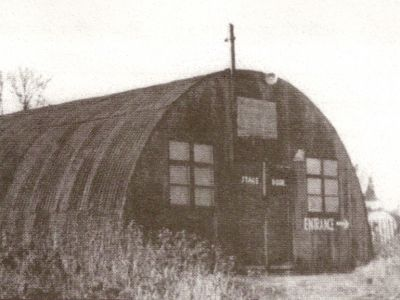 The old Nissen Hut